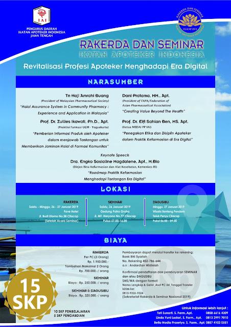 Seminar dan Rakerda PD IAI Jawa Tengah Januari 2019