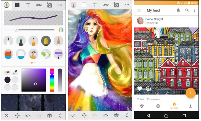 drawing app for android phone