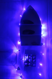 Lampki w morskim stylu DIY