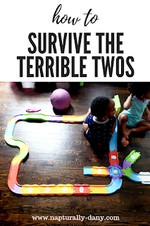 Set yourself up for success with 5 ways to survive the terrible twos