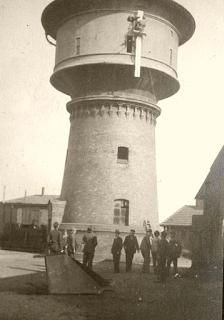 Water Tower Poland Silesia - Wasserturm im Oberschlesien