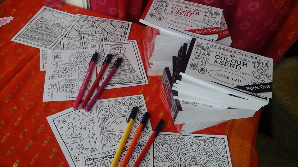 87+ Postcard Colouring Book Designs From Nature Picture HD