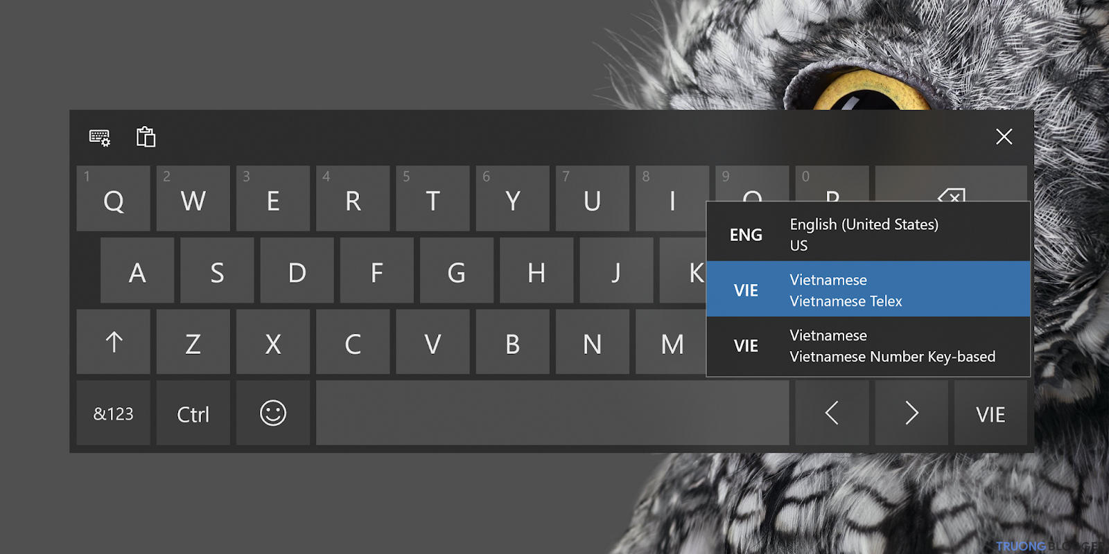 Hướng dẫn thay đổi ngôn ngữ bàn phím trên Windows 10