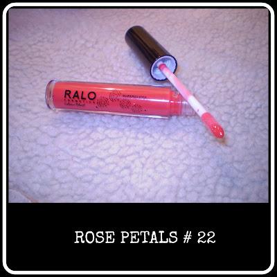 Rose petals lipgloss