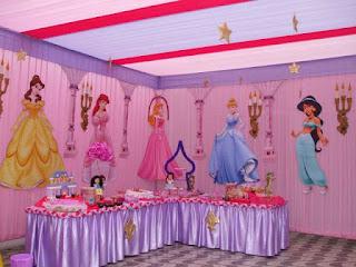 DECORACION DE FIESTAS INFANTILES CON PRINCESAS DE DISNEY