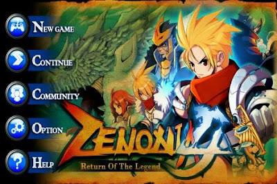 Zenonia 4 android game
