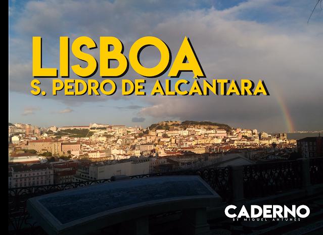 S. Pedro de Alcântara, o miradouro romântico de Lisboa