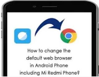 come impostare google chrome browser preferito su android