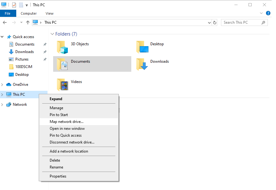 powershell to map sharepoint online document library as network drive