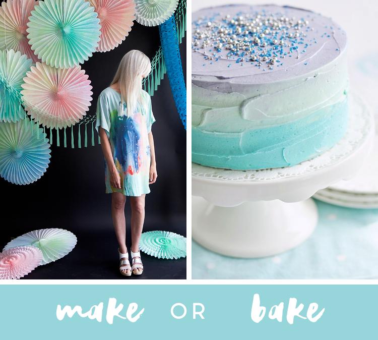 Make Or Bake - Watercolour