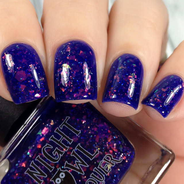 Night Owl Lacquer-I'm Speaking In Rhyme!