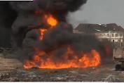 ledakan gas di negeria  15 orang tewas dan lebih dari puluhan bangunan hancur