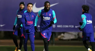 Barca squad test negative for Covid-19 after 2 staff members contract coronavirus