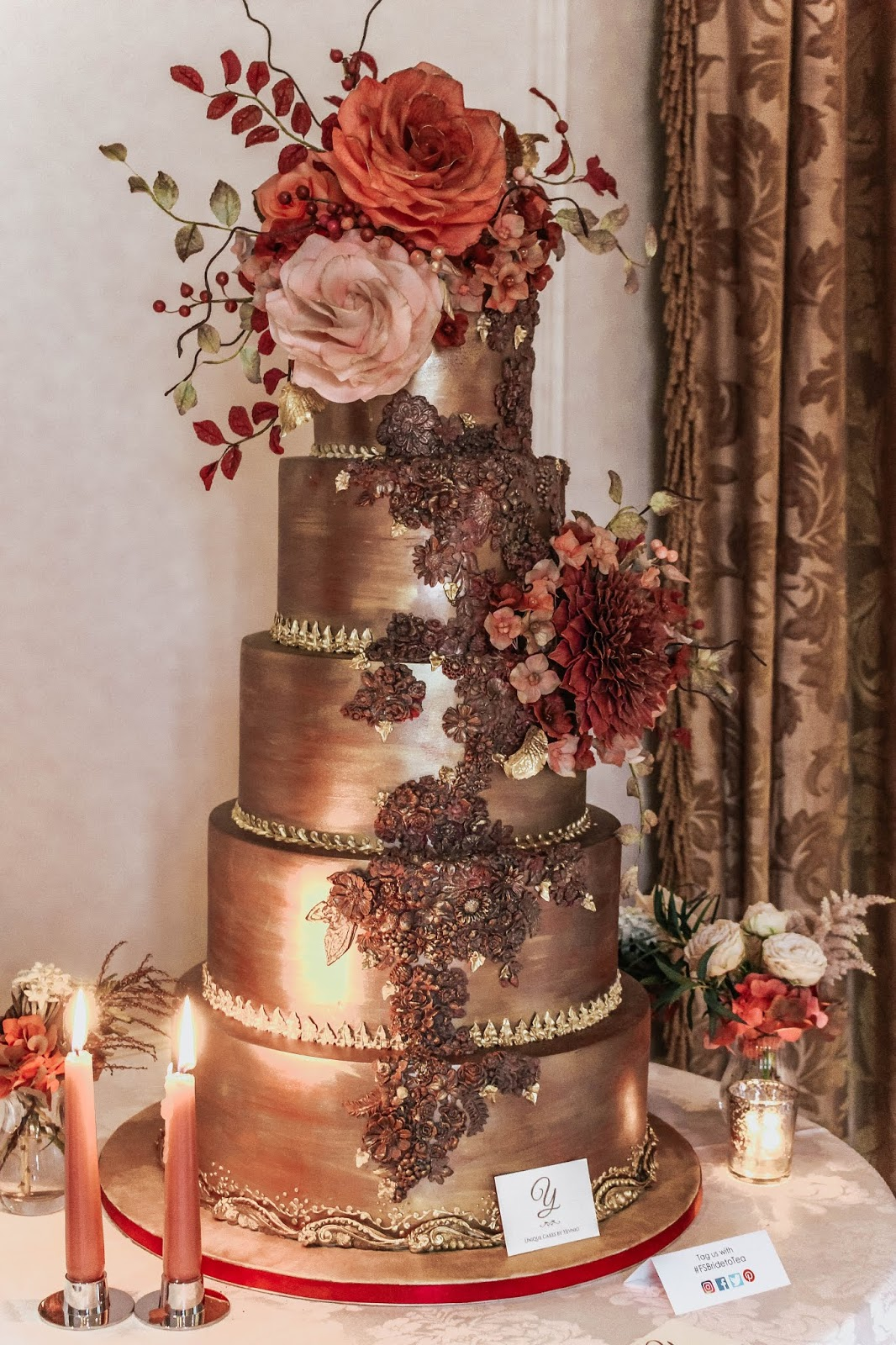 Luxury Bridal Unique Cake by Yevnig