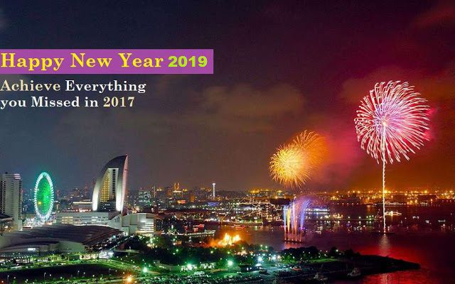 Happy New Year 2019 Images HD Wallpapers Free Download
