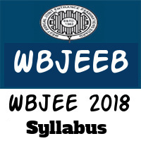 Wbjee Syllabus 2018