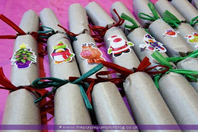 Handmade Christmas Crackers   The Purple Pumpkin Blog