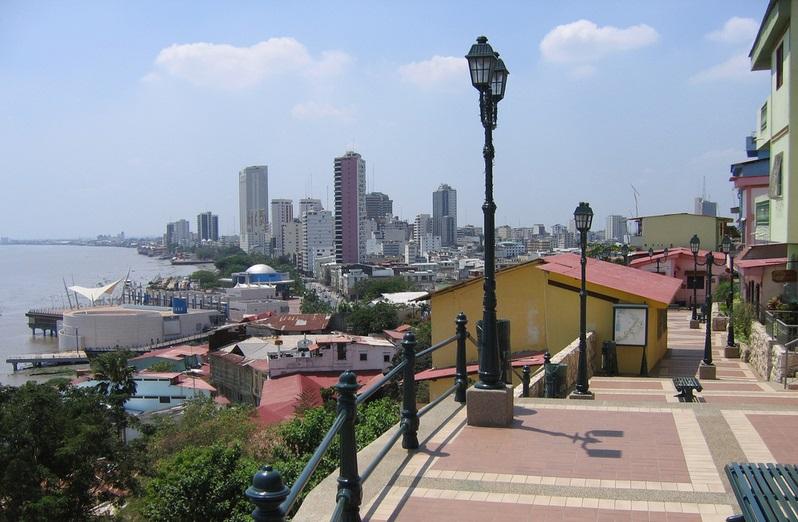 Ubicación mapa de los parques de Guayaquil