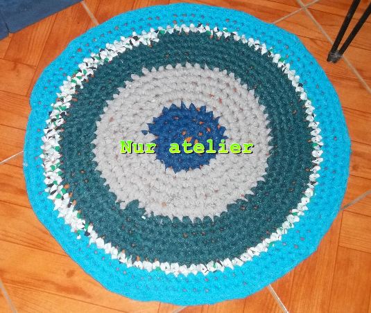 Nur Atelier Alfombras Trapillo Reciclado Y Deco Crochet