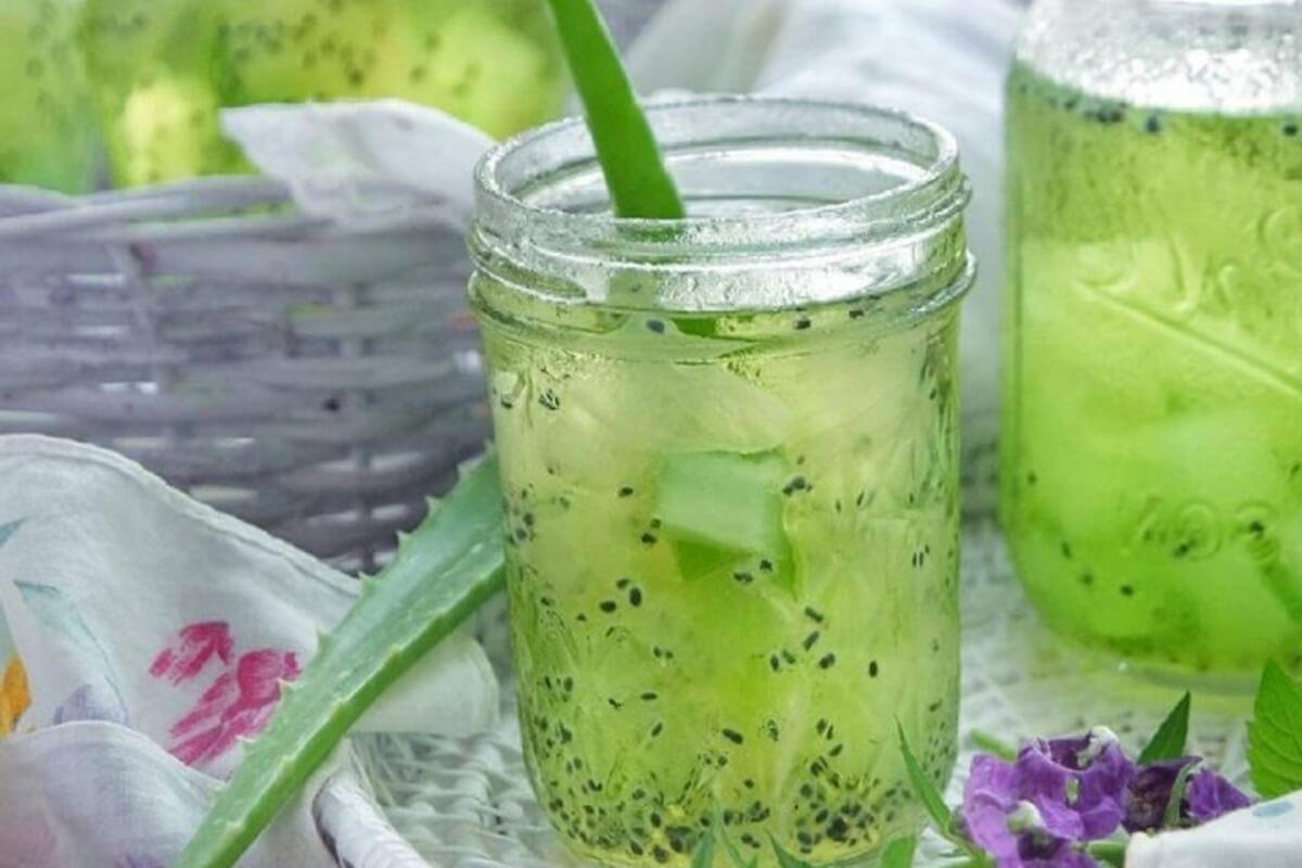 Resep Minuman Es Lidah Buaya Rinaresep.com