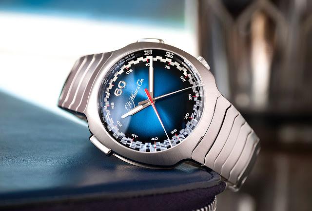 Moser Streamliner Flyback Chronograph Funky Blue