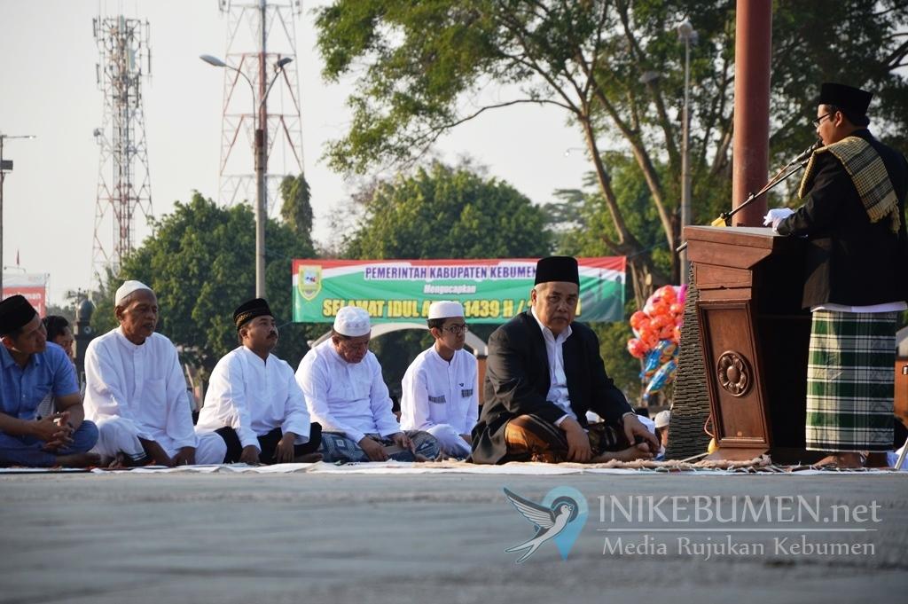 Gus Yazid jadi Imam Shalat Idul Adha di Alun-alun Kebumen