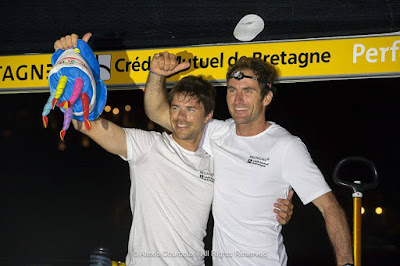 Sébastien Simon et Morgan Lagravière deuxièmes de la Transat AG2R 2018