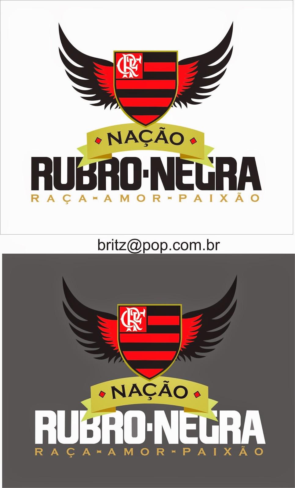 b1415e49d4 Vetor CDR Free  Nação Rubro Negra