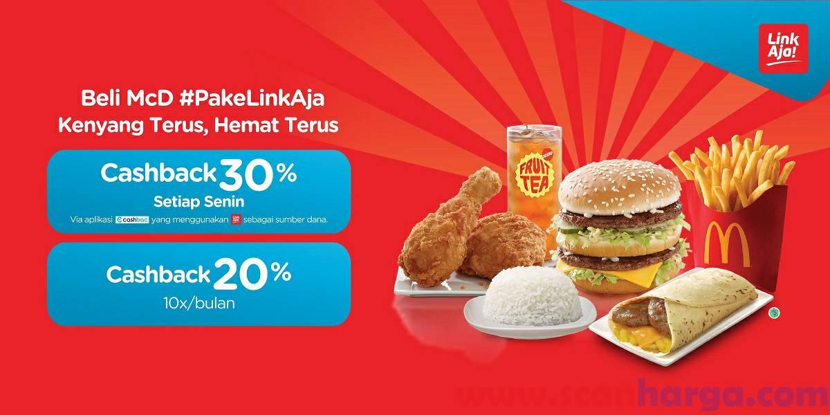 McDonalds Promo LinkAja Juni 2020