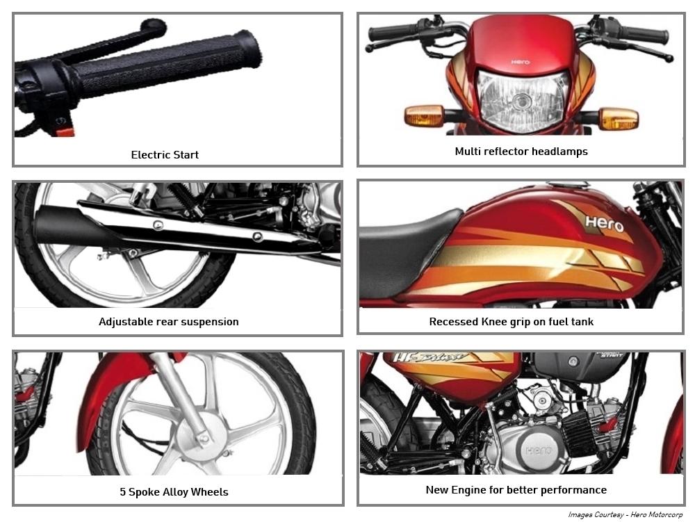 Hero Hf Deluxe Eco Bike Image