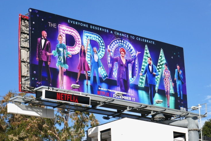 Prom Netflix movie billboard