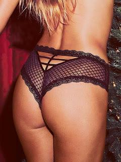 Elsa Hosk in naughty bikini lingerie for Victorias Secret November 2016