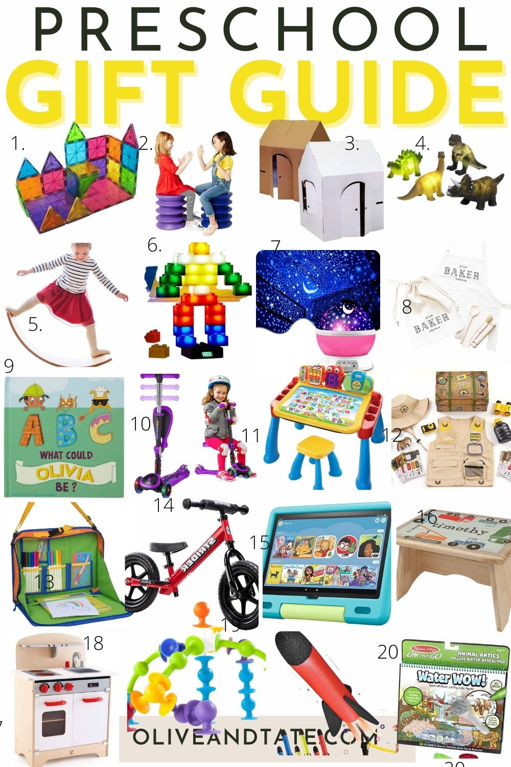 The Best Gifts for Preschoolers 2021