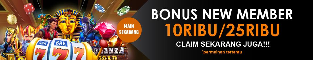 Bonus New Member Slot Online 100%