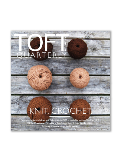 A Woolly Yarn: Toft Launches Hand Dyed Yarns + Quarterly