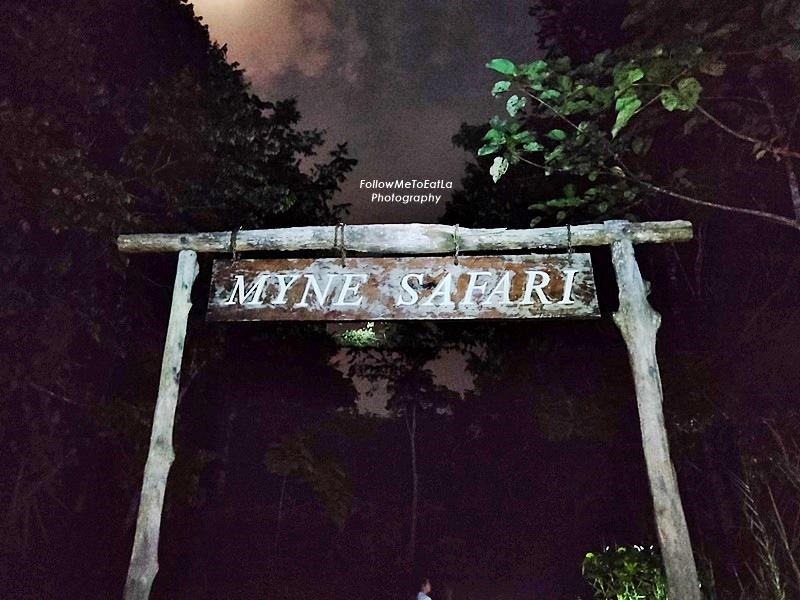Myne Resort Bilit - Night Safari