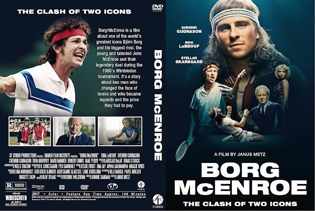 Borg/McEnroe DVD Cover