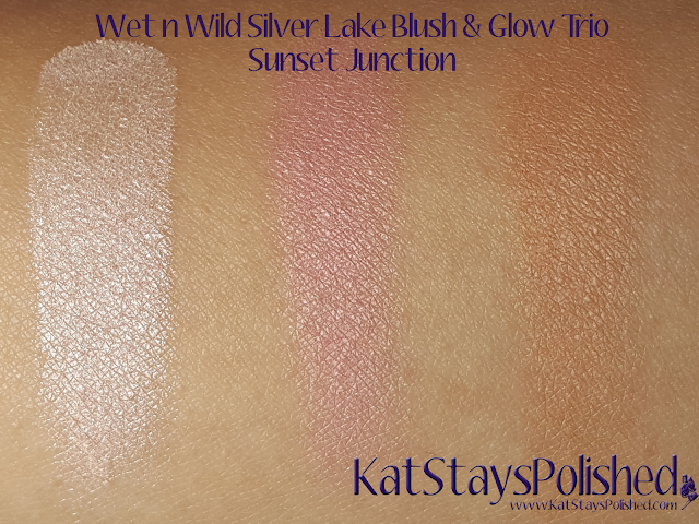 wet n wild coloricon - blush & glow trio - Silver Lake 2015 - Sunset Junction | Kat Stays Polished