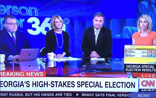 Handel Wins, CNN Sad, Trump and his Supporters are Laughing their Ossoff