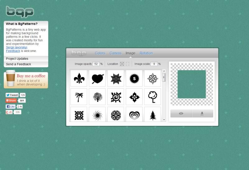 Easy Website Background Generator - Clementine Creative