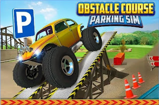 Games Obstacle Course Car Parking App