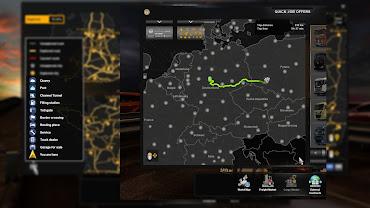 ets 2 yandex navigator night version screenshots 2
