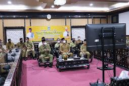Pesan Walikota saat Halal Bihalal Pemkot Mataram