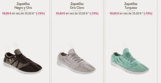 Zapatillas 10 euros