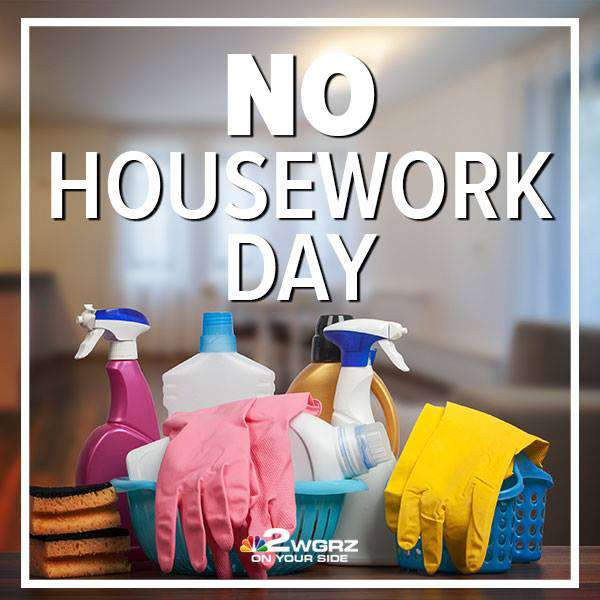 National No Housework Day Wishes Unique Image