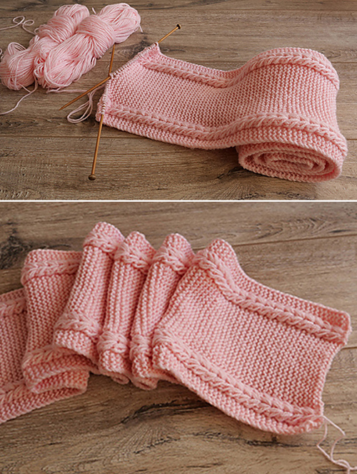 Two - Turn Snud - Free Knitting Pattern