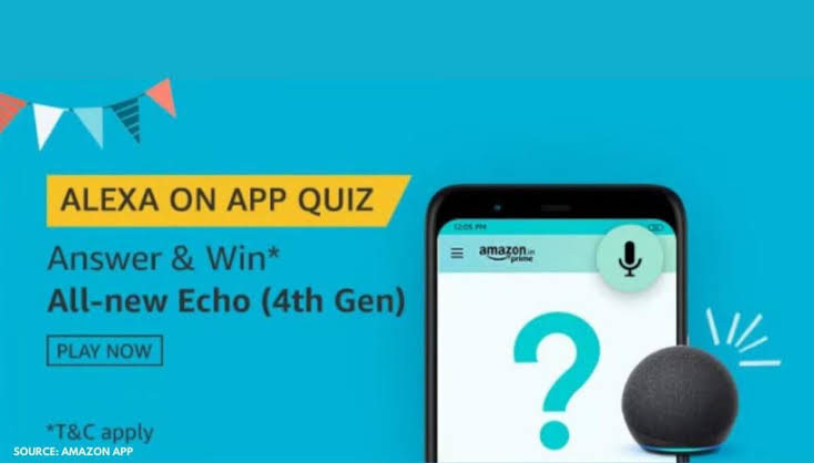 Amazon Alexa On App Quiz Answers – Win All-New Echo 4th Gen