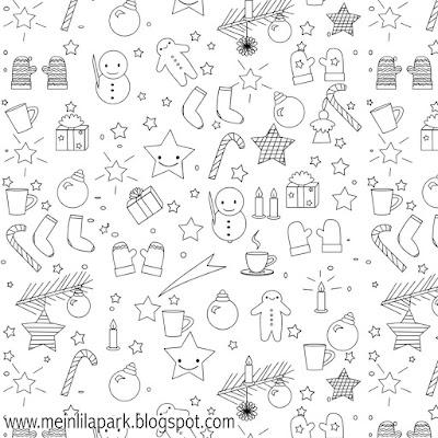 free printable christmas coloring page ausdruckbares. Black Bedroom Furniture Sets. Home Design Ideas