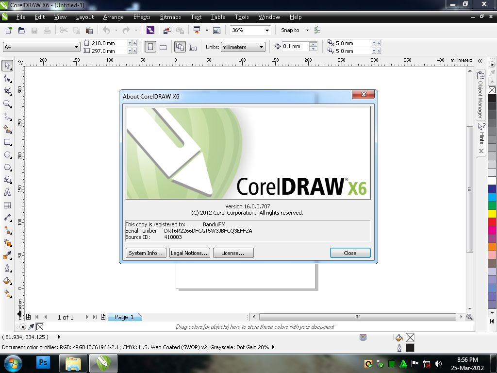 Free Download PC Games Corel Draw X6 Full With Crack Full