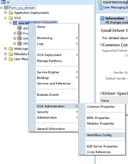 SOA & BPM - My Learnings: Configuring Email Notification in